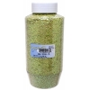 Glitter Flakes Vials Large Jar Iridescent Lime Gree with Sifter